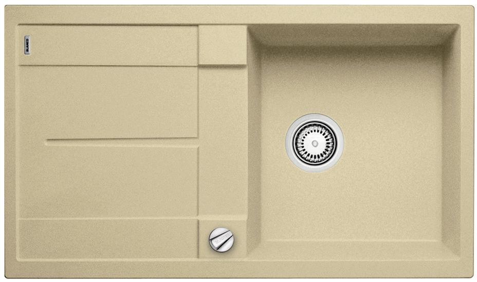 blanco metra 45 s silgranit 15500. Black Bedroom Furniture Sets. Home Design Ideas